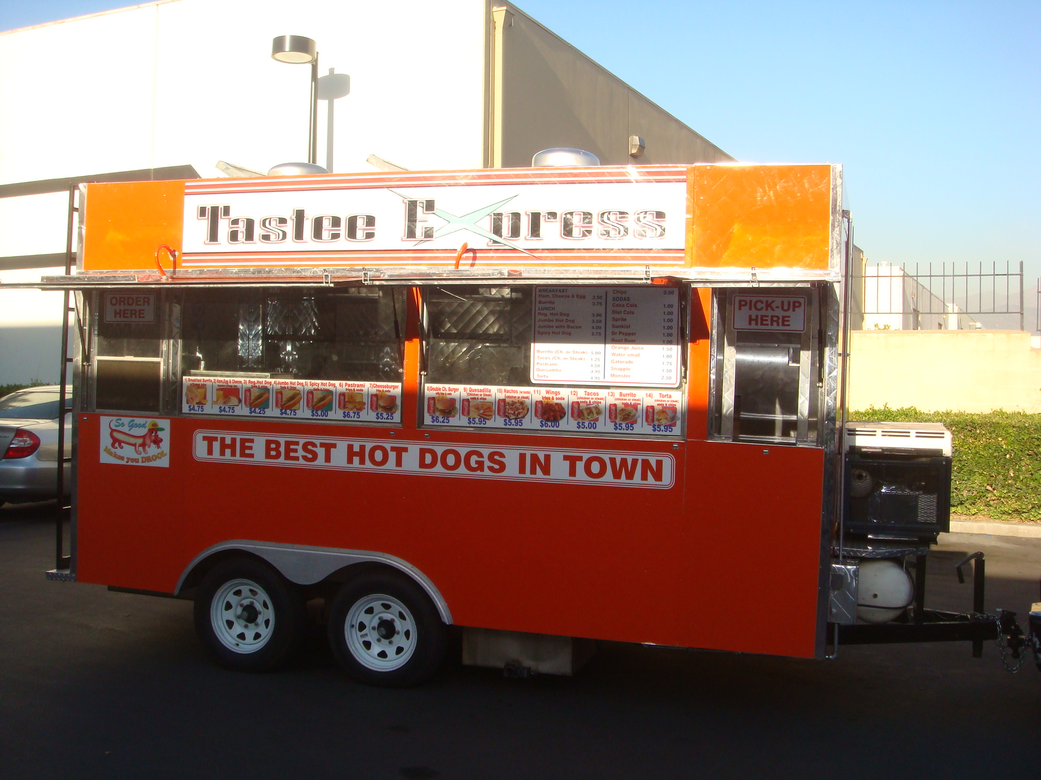 Tastee Express Trailer