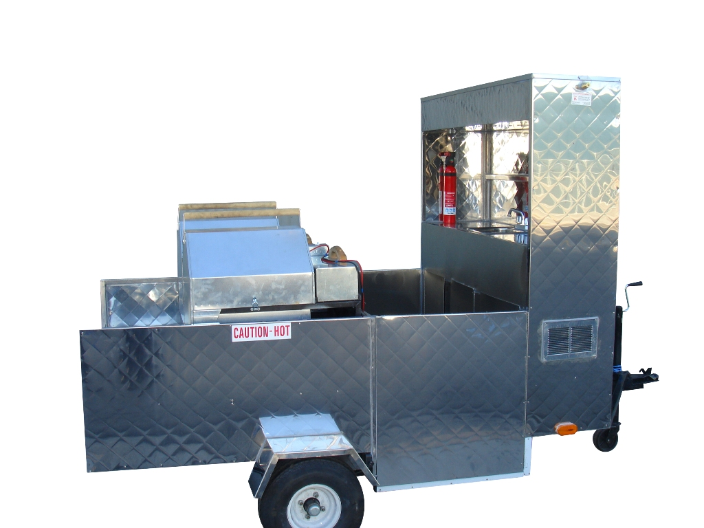 Roasted Nut Carts Trailer