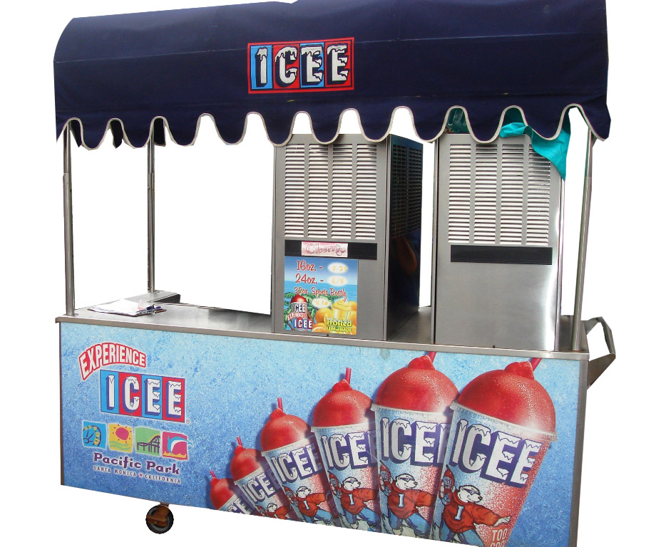 Custom Ice Cart