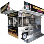 Kosher Grilling Cart