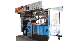 Street Kitchen Grilling Cart
