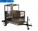 Trailer Trailer Fruit Cart - Display area