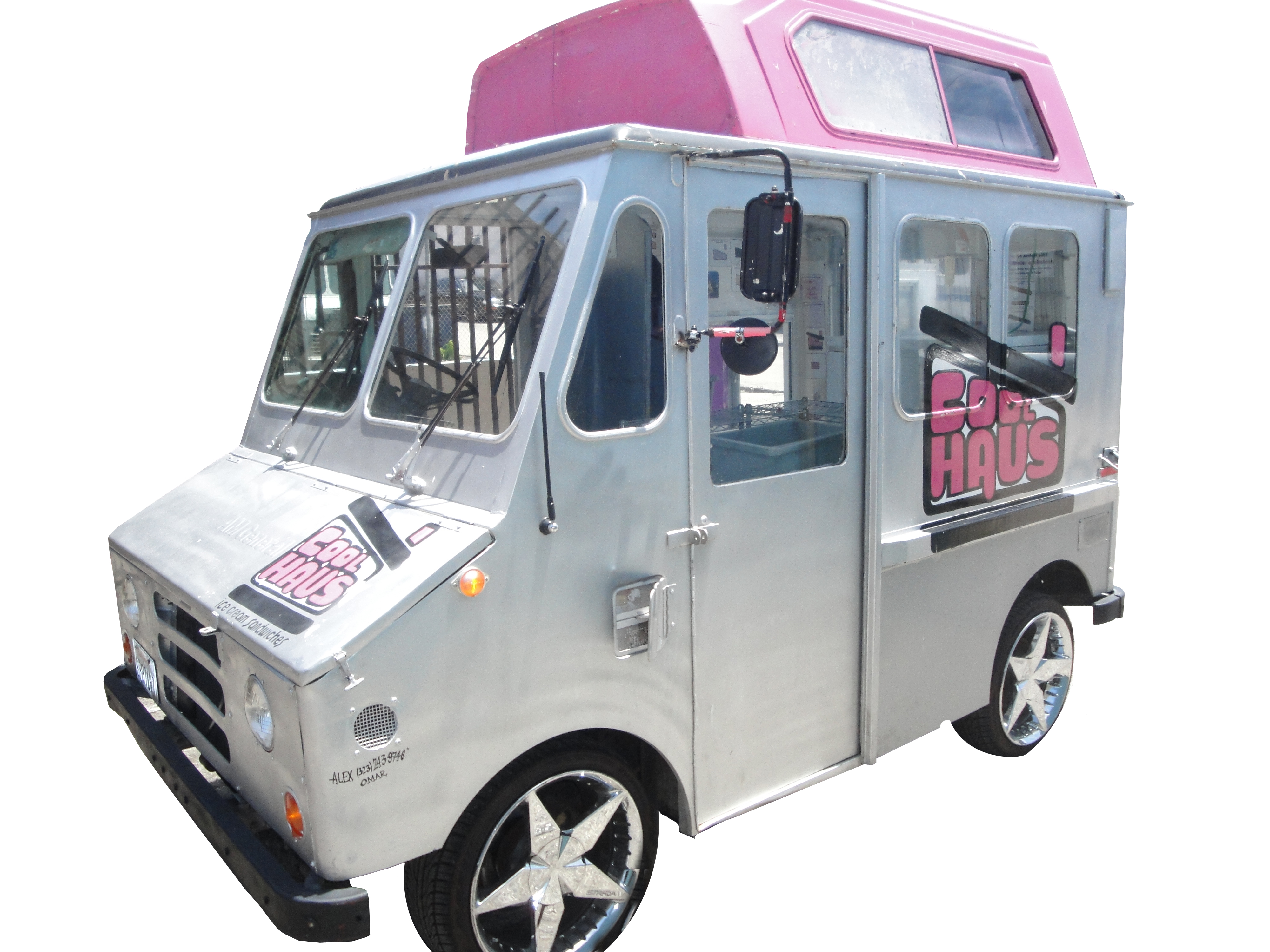 The Cool Haus Small Truck by Kareem Carts Manufacturing Company