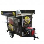 Kettle pop corn cart