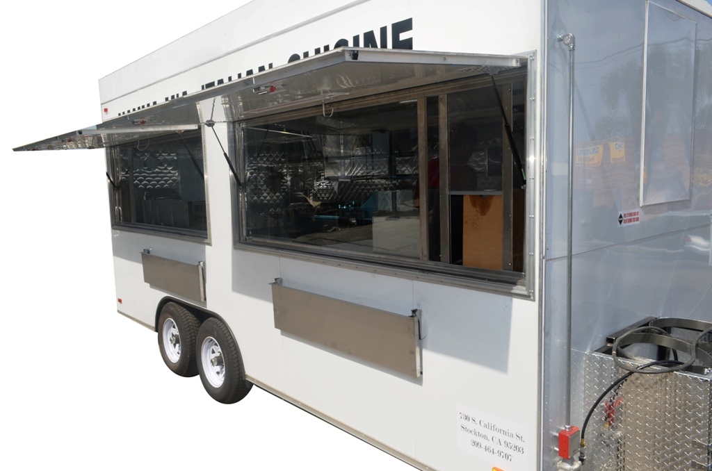 Step In Concession Trailer By Kareem Carts