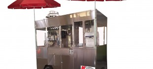 Pop Corn and Shaved Ice Trailer Cart