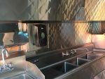 Hand wash sink and 3-compartment sink