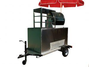 Snacks cart