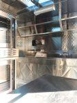 Cookies trailer - top shelving