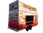 Cookies trailer - rear view