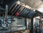 Inside a churros truck - churros extruder