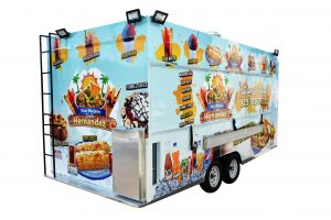 snack step-in food trailer
