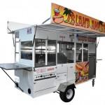 Hot Dog, Snow Cone, Nachos, Churro Trailer Cart