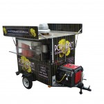 Kettle pop corn cart