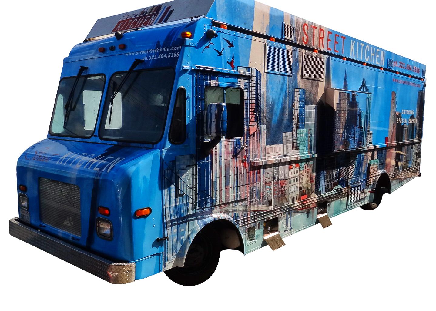 Street Kitchen 24 Food Truck Kareem Carts Commissary