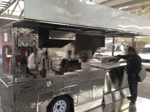 Baked churros trailer