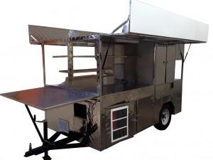 Fryer cart