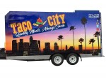 17' Step-in Taco Trailer