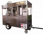Pop corn and shaved ice cart