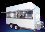 Funnel Cake Trailer- Open windows
