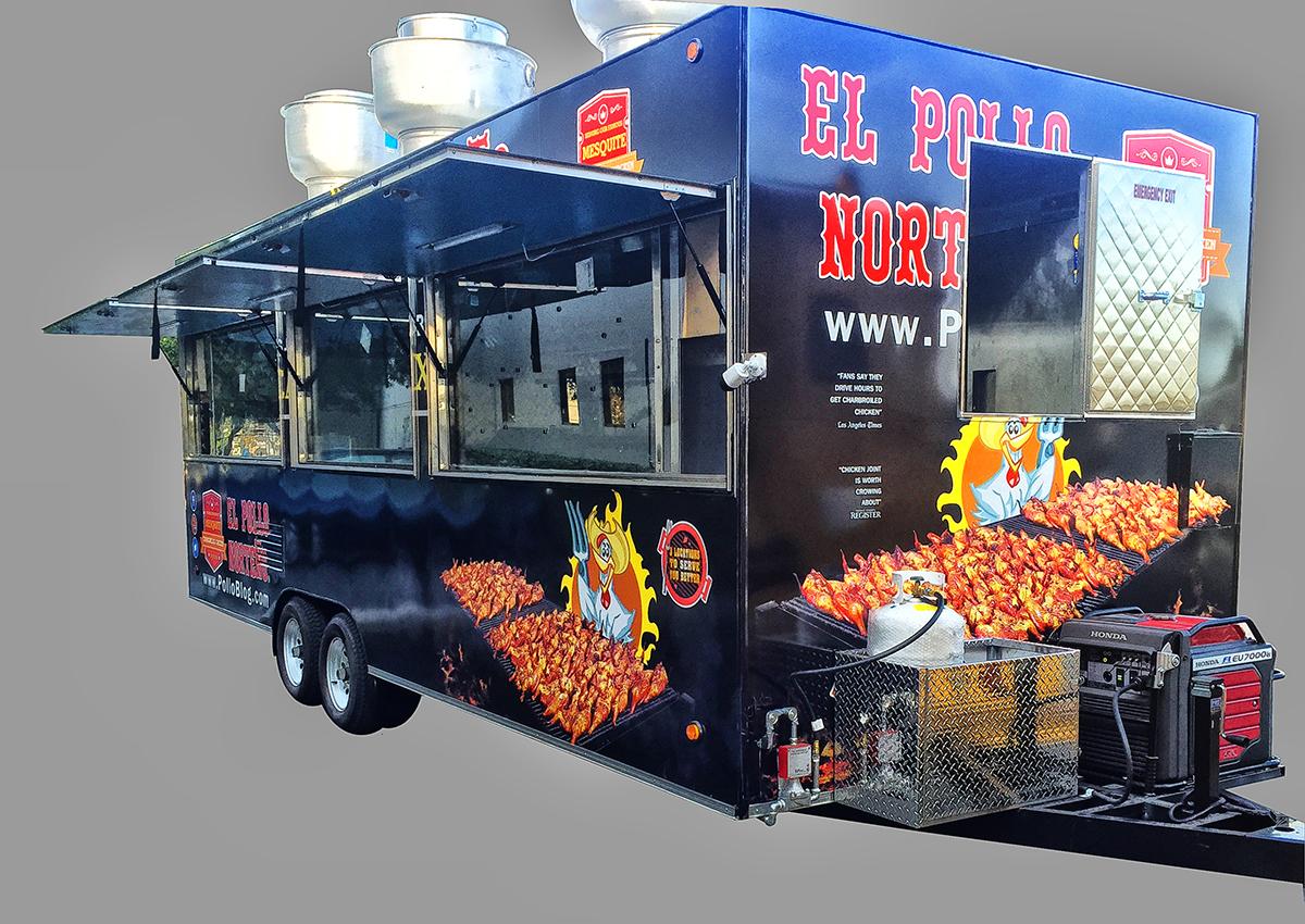 El Pollo Norteno Food Trailer