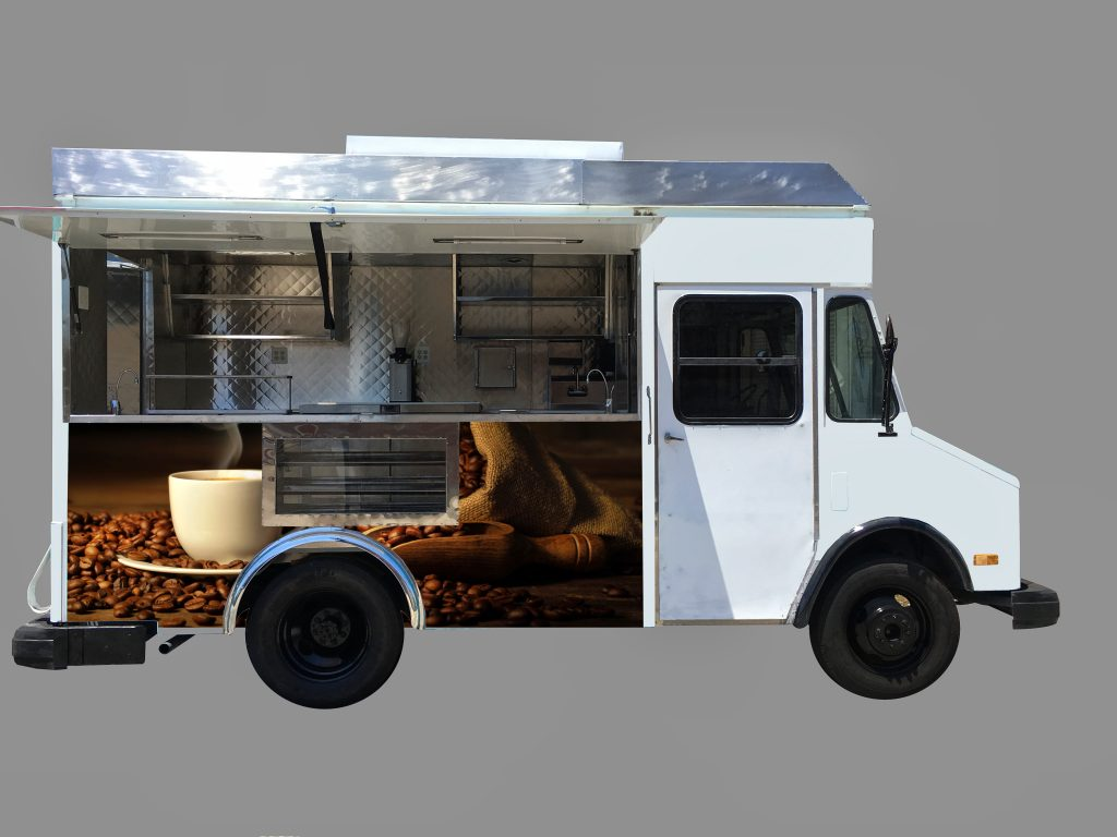 Coffee Truck by Kareem Carts