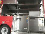 Double under counter refrigerators