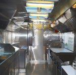 Step-in food trailer