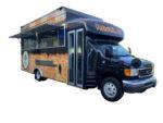 Shawarma food bus